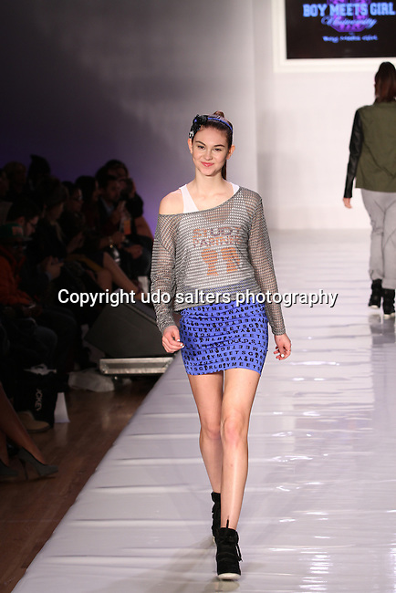 Runway - Boy Meets Girl By Stacy Igel At New York Fashion Week Style360, NY 2/13/13