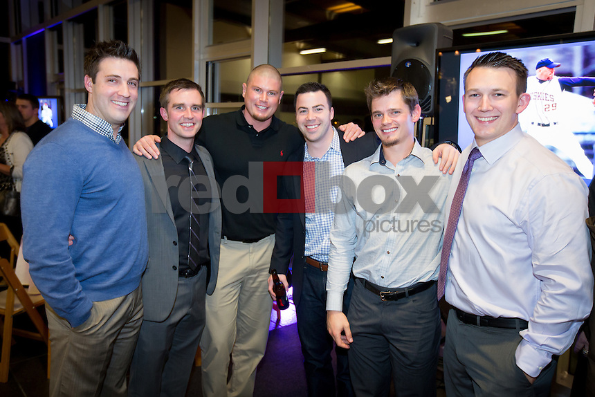 The 2013 UW baseball first pitch dinner at the Conibear Shellhouse on Saturday February 9, 2013. (Photo by Scott Eklund /Red Box Pictures)