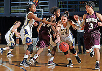 Florida International University guard Carmen Miloglav (24) plays against ULM. FIU won the game 65-55 on January 07, 2012 at Miami, Florida. .