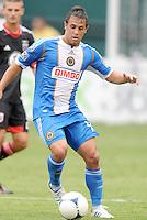 Philadelphia Union forward Danny Cruz (44)  D.C. United tied The Philadelphia Union 1-1 at RFK Stadium, Saturday August 19, 2012.