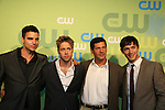 Colin Egglesfield - Shaun Sipos - Thomas Calabro - Michael Rady at the CW Upfront 2009 on May 21, 2009 at Madison Square Gardens, New York NY. (Photo by Sue Coflin/Max Photos)