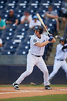 Tampa Tarpons designated hitter Adam Lind (23) at bat during a game against the Fort Myers Miracle on May 2, 2018 at George M. Steinbrenner Field in Tampa, Florida.  Fort Myers defeated Tampa 5-0.  (Mike Janes/Four Seam Images)