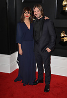 LOS ANGELES, CA - FEBRUARY 10: Rashida Jones and Alan Hicks at the 61st Annual Grammy Awards at the Staples Center in Los Angeles, California on February 10, 2019. Credit: Faye Sadou/MediaPunch