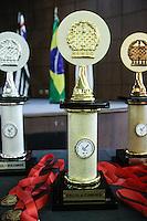 SÃO PAULO, SP, 24.11.2015 - XADREZ-SP - Jogadores durante XXI Final Municipal de Xadrez Individual 2015, no Parque São Jorge no Tatuapé região leste de São Paulo nesta terça-feira, 24. (Foto: Marcos Moraes / Brazil Photo Press)