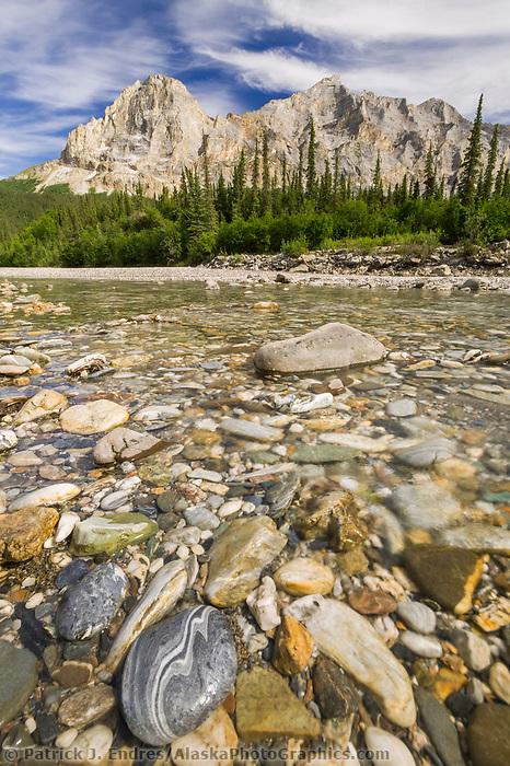 Koyukuk River and mount Sukakpak in the Brooks Range, Arctic, Alaska
