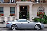 Automóvel Aston Martin em Londres. Inglaterra. 2009. Foto de Vinicius Romanini.