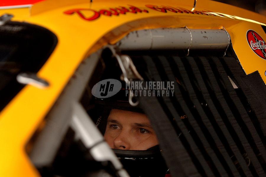 Sept. 24, 2006; Dover, DE, USA; Nascar Nextel Cup driver David Gilliland (38) during the Dover 400 at Dover International Speedway. Mandatory Credit: Mark J. Rebilas