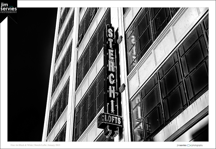 Sterchi Lofts (bw) | Knoxville, TN by Jim Servies Photography