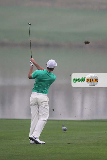 Charl Schwartzel (RSA) on the 11th on Day 1 of the BMW Masters 2012 at Lake Malaren Golf Club, Shanghai, China, Tuesday 25/10/12...(Photo www.golffile.ie)