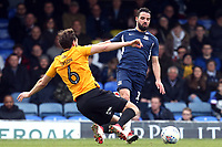 Edward Upson of Bristol Rovers and Stephen McLaughlin of Southend United during Southend United vs Bristol Rovers, Sky Bet EFL League 1 Football at Roots Hall on 7th March 2020