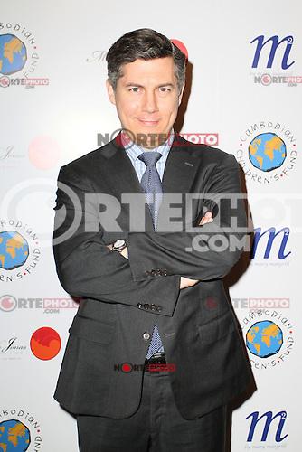 Chris Parnell en una noche para el Fondo de Ni&ntilde;os de Camboya en la ciudad de Nueva York. 11 de abril 2012. <br /> <br /> (Foto:&copy;Mois&eacute;s de la Pe&ntilde;a/Mediapunchinc/NortePhoto.com*)<br /> **SOLO*VENTA*EN*MEXiCO**