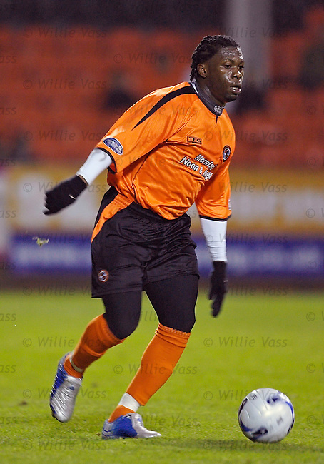 Colin Samuel, Dundee Utd.stock season 2005-2006.pic willie vass