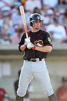 May 25, 2008: Quad Cities River Bandits starting infielder Pete Kozma (7) at bat against the Kane County Cougars at Elfstrom Stadium in Geneva, IL. Photo by: Chris Proctor/Four Seam Images