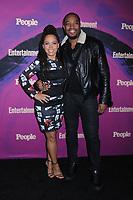 13 May 2019 - New York, New York - Amirah Vann and Patrick Oyeku at the Entertainment Weekly & People New York Upfronts Celebration at Union Park in Flat Iron.   <br /> CAP/ADM/LJ<br /> ©LJ/ADM/Capital Pictures