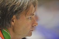 SCHAATSEN: HEERENVEEN: 31-08-2013, Thialf IJsstadion Thialf, Shorttrack Invitation Cup, trainer/coach Jeroen Otter, ©foto Martin de Jong