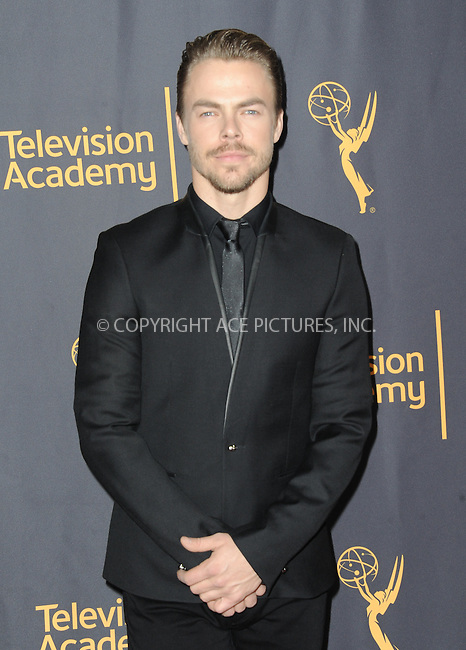 www.acepixs.com<br /> <br /> February 16 2017, LA<br /> <br /> Derek Hough attending the Television Academy's 'Whose Dance Is It Anyway?' celebration at Saban Media Center on February 16, 2017 in North Hollywood, California.<br /> <br /> By Line: Peter West/ACE Pictures<br /> <br /> <br /> ACE Pictures Inc<br /> Tel: 6467670430<br /> Email: info@acepixs.com<br /> www.acepixs.com