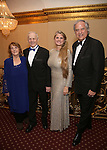 Virginia Comley, James F. Comley, Bonnie Comley and Stewart Lane attend the Broadway Opening Night of Sunset Boulevard' at the Palace Theatre Theatre on February 9, 2017 in New York City.