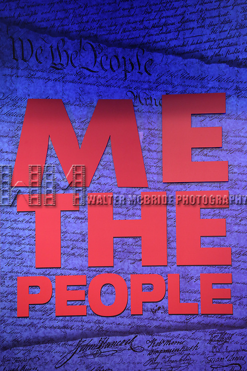 'ME THE PEOPLE: The Trump America Musical' Press Preview Presentation at The Triad Theater on June 21, 2017 in New York City.