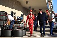 2nd November 2019; Circuit of the Americas, Austin, Texas, United States of America; Formula 1 United Sates Grand Prix, qualifying day; Scuderia Ferrari, Sebastian Vettel - Editorial Use