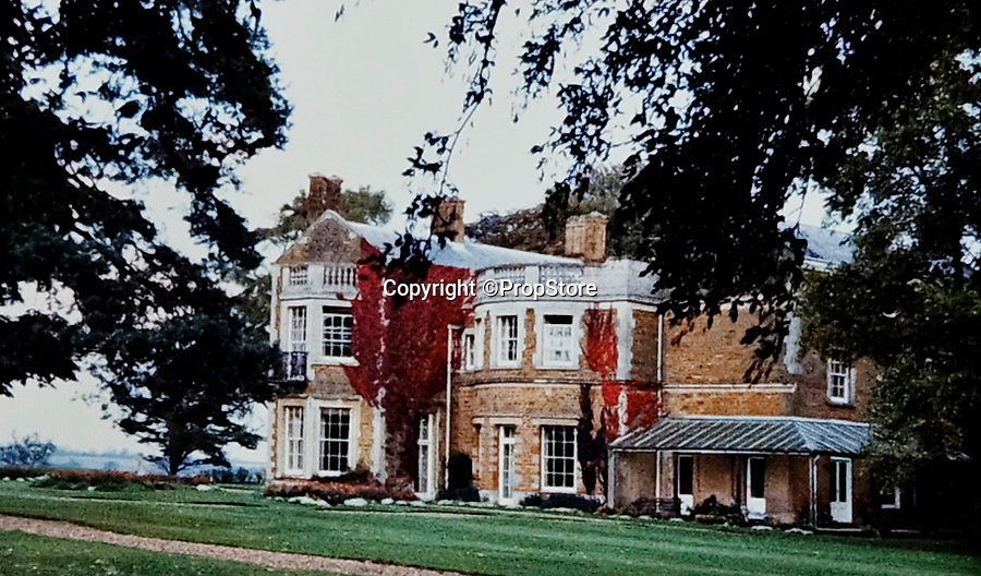 BNPS.co.uk (01202 558833)<br /> Pic: PropStore/BNPS<br /> <br /> Everdon Manor in Northamptonshire.<br /> <br /> A Stormtrooper helmet from the first Star Wars film has sold for almost £200,000 by a relative of a British country squire.<br /> <br /> Captain Robert Hawkins and his wife Anne were gifted the iconic helmet for staging the Star Wars Cross Country Team Event at their English manor house in 1978.<br /> <br /> The bizarre equestrian event was attended by Carrie Fisher, who played Princess Leia, Darth Vader actor David Prowse, Peter Mayhew, who played Chewbacca, and football pundit Jimmy Hill.