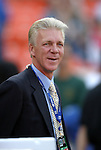 8 May 2004: DC United broadcaster, and former head coach, Thomas Rhongen. DC United tied the Columbus Crew 1-1 at RFK Stadium in Washington, DC during a regular season Major League Soccer game..