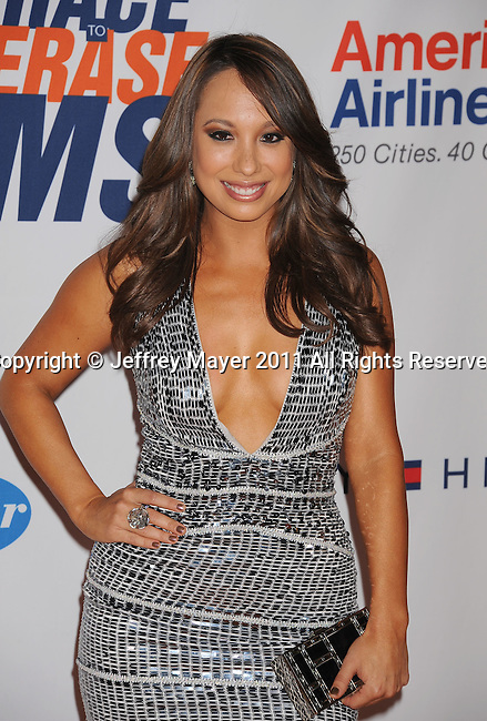 CENTURY CITY, CA - APRIL 29: Cheryl Burke arrives at the 18th Annual Race To Erase MS at the Hyatt Regency Century Plaza on April 29, 2011 in Century City, California.