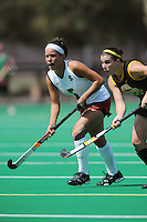 Stanford, CA - SEPTEMBER 13:  Defender Nora Soza #5 of the Stanford Cardinal during Stanford's 3-2 loss against the Iowa Hawkeyes on September 13, 2008 at the Varsity Field Hockey Turf in Stanford, California.