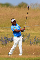 Thongchai Jaidee (THA) on the 14th during Round 2 of the Aberdeen Standard Investments Scottish Open 2019 at The Renaissance Club, North Berwick, Scotland on Friday 12th July 2019.<br /> Picture:  Thos Caffrey / Golffile<br /> <br /> All photos usage must carry mandatory copyright credit (© Golffile | Thos Caffrey)