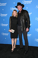 LOS ANGELES - JAN 18:  Trace Adkins, Rhonda Forlaw at the Paramount Network Launch Party at the Sunset Tower on January 18, 2018 in West Hollywood, CA