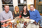 Michael Daly, Donna Daly, Carolyn Carney and James Carney, Tralee and Castleisland, out for Valentines at the Stone House on Saturday