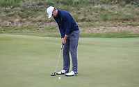 Celebrations begin; Jordan Spieth (USA) wins Sunday's Final Round at The 146th Open played at Royal Birkdale, Southport, England.  23/07/2017. Picture: David Lloyd | Golffile.<br /> <br /> Images must display mandatory copyright credit - (Copyright: David Lloyd | Golffile).