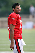 July 30th 2008:  Quarterback Gibran Hamdan (10) of the Buffalo Bills during the sixth day of training camp at St. John Fisher College in Rochester, NY.  Photo Copyright Mike Janes Photography