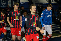 Blackburn Rovers' Jack Payne takes to the pitch<br /> <br /> Photographer Andrew Kearns/CameraSport<br /> <br /> The EFL Sky Bet League One - Portsmouth v Blackburn Rovers - Tuesday 13th February 2018 - Fratton Park - Portsmouth<br /> <br /> World Copyright &copy; 2018 CameraSport. All rights reserved. 43 Linden Ave. Countesthorpe. Leicester. England. LE8 5PG - Tel: +44 (0) 116 277 4147 - admin@camerasport.com - www.camerasport.com