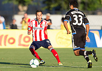 Santa Clara, California -Saturday, August 3, 2013: San Jose Earthquakes defeated Chivas USA at Buck Shaw Stadium