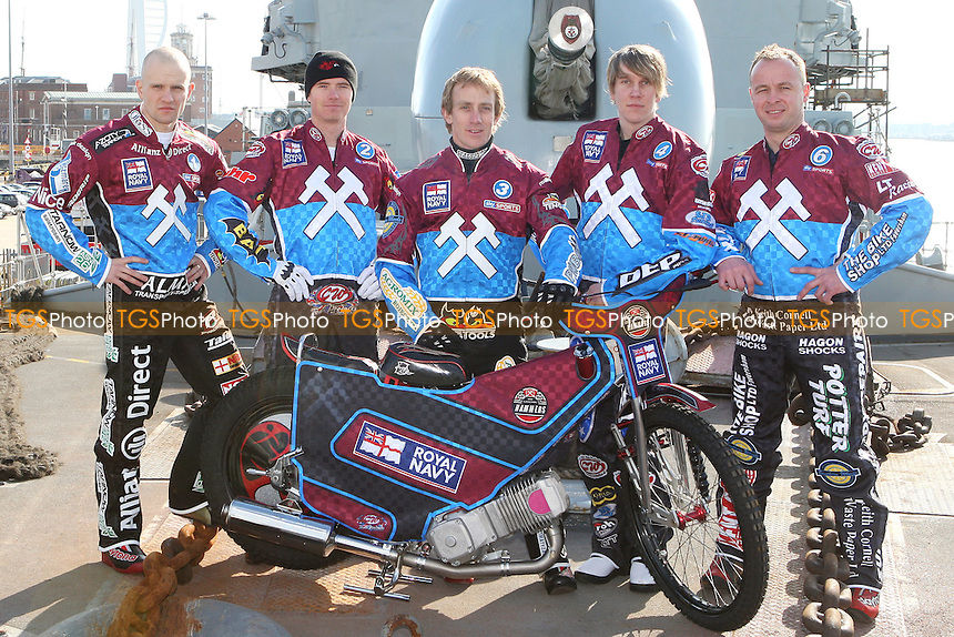 - Lakeside Hammers on HMS Kent, Portsmouth - 02/03/10 - MANDATORY CREDIT: Rob Newell/TGSPHOTO - Self billing applies where appropriate - 0845 094 6026 - contact@tgsphoto.co.uk - NO UNPAID USE.