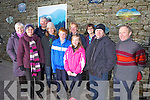 Family and friends of the late John Moriarty from Lixnaw, pictured here last Thursday on the grounds of Duagh Church to commemorate his work and writings.