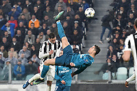 il secondo gol di Cristiano Ronaldo Real. Goal celebration.<br /> Torino 03-04-2018 Stadium Champions League 2017/2018 Round of 8 Juventus - Real Madrid Foto Andrea Staccioli / Insidefoto