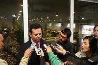 SAO PAULO, SP, 11/06/2012, INAUGURACAO ESTACAO DE TRANSBORDO.  O prefeito Gilberto Kassab inaugurou na manha de hoje (11) a Estacao de Transbordo da Ponte Pequena que fica na Av. do Estado n 300.  Luiz Guarnieri/ Brazil Photo Press