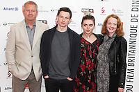 Philip John, Benjamin Cole Tara Lee - 27e Festival du film Britannique de Dinard - France, 29/09/2016