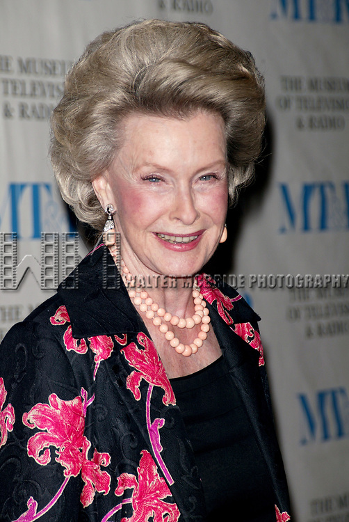 Dina Merrill attends  The Museum of Television &amp; Radio's Annual Gala Honoring Merv Griffin for his Award-Winning Television and Radio Career as well as his Contributions as a Business Leaderin the Entertainment Industry. The evening was held at the Waldorf Astoria Hotel in New York City. <br /> May 26, 2005