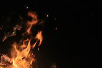 copper fire flame