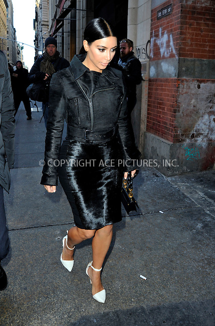WWW.ACEPIXS.COM<br /> <br /> January 8 2015, New York City<br /> <br /> Kim Kardashian and her friend Jonathan Cheban went out in Midtown Manhattan on January 8 2015 in New York City<br /> <br /> By Line: Curtis Means/ACE Pictures<br /> <br /> <br /> ACE Pictures, Inc.<br /> tel: 646 769 0430<br /> Email: info@acepixs.com<br /> www.acepixs.com