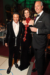 Designer Zang Toi with chairs Phoebe and Bobby Tudor at the Ballet Ball at the Wortham Theater Saturday  Feb. 16,2008.(Dave Rossman/For the Chronicle)