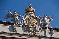 Europe/Autriche/Niederösterreich/Vienne: Palais de La Hofburg -  La cour In der Burg   entre la Heldenplatz et la Michaelerplatz -Détail Architecture- Centre Historique, Patrimoine mondial UNESCO