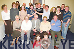 MEMORIES: The Roche family from Tralee having a lovely time at their family reunion in the Manor West Hotel on Saturday evening..