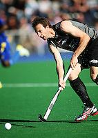 NZ's Ryan Archibald during the international hockey match between the New Zealand Black Sticks and Malaysia at Fitzherbert Park, Palmerston North, New Zealand on Sunday, 9 August 2009. Photo: Dave Lintott / lintottphoto.co.nz