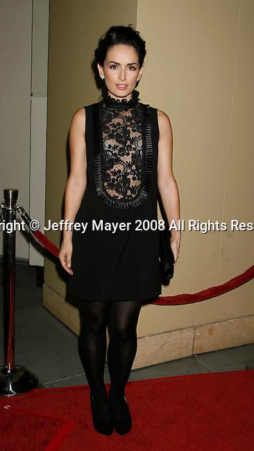 """HOLLYWOOD, CA. - October 07: Actress Ana De La Reguera arrives at the Padres Contra El Cancer's 8th Annual """"El Sueno De Esperanza"""" Benefit Gala at the Hollywood & Highland Center on October 7, 2008 in Hollywood, California."""