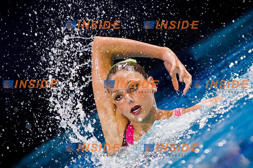 Linda Cerruti (ITA)..European Synchronised Swimming Championships Eindhoven 2012..Solo Free Routine - Finals ..Eindhoven (Netherlands), 26/05/2012, Pieter Van Den Hoogenband Swimming Stadium..ph. Giorgio Perottino / Deepbluemedia