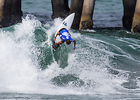 Huntington Beach, CA. Monday, July 27, 2015: Vans US Open of Surfing 2015, Men's Open round of 96.