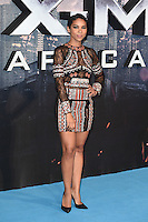 Alexandra Shipp<br /> at the &quot;X-Men Apocalypse&quot; premiere held at the IMAX, South Bank, London<br /> <br /> <br /> &copy;Ash Knotek  D3116  09/05/2016